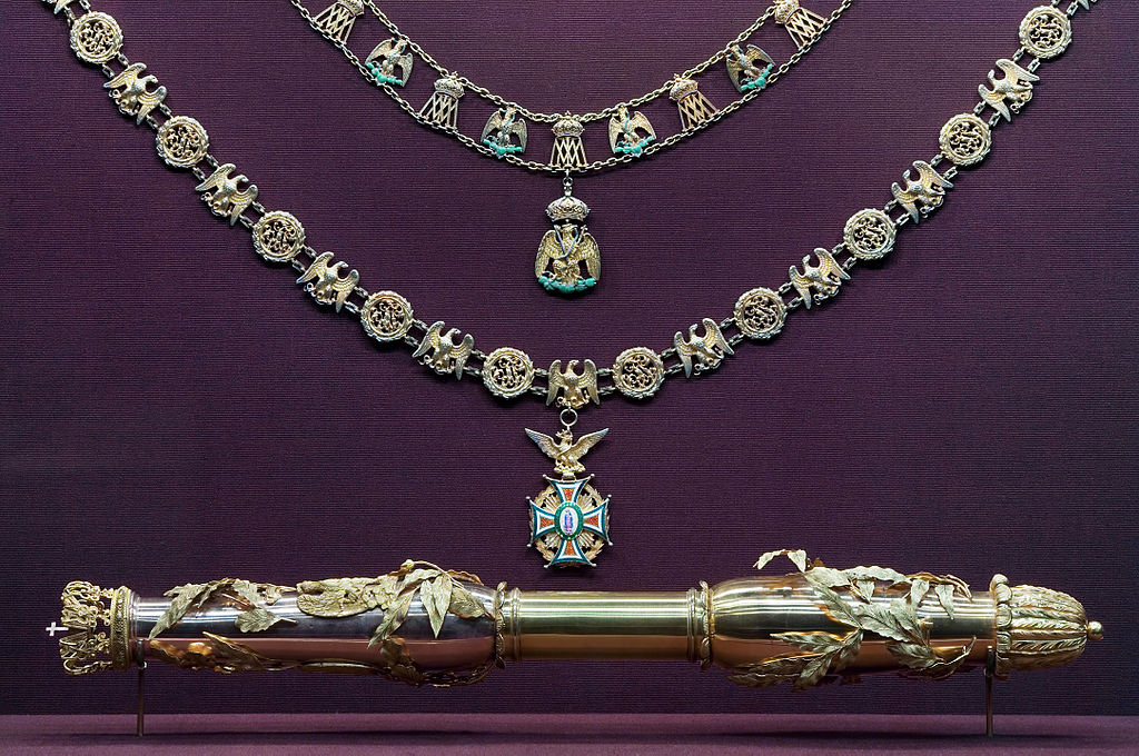 Vienna - Baroque Napoleon and Marie Louise Scepter - 6355