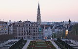 View from Mont des Arts during civil twilight (DSCF8292).jpg