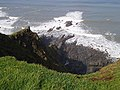 View from clifftop near Morwenstow - geograph.org.uk - 1471019.jpg