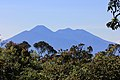 View of Mount Pangrango (left) and Mount Gede (right) from Mount Salak 1 Halimun Salak National Park.jpg