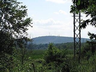 Nobscot Hill Hill in Framingham, Massachusetts, US