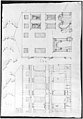 Villa Farnesina, Stables, half front elevation and end elevation (recto) Palazzo Salviati-Adimari, plan (verso) MET sf49 92 50r-MM30696.jpg