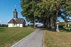 Villach Wernberg II St. Ulrich Filialkirche hl. Ulrich ONO-Ansicht 06092018 4553.jpg