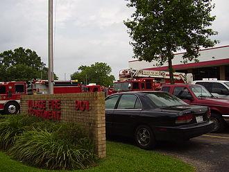Hedwig Village, Texas - Village Fire Department