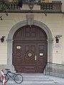 Vilmos Apor Catholic College. Gate.JPG