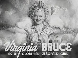 The Great Ziegfeld - Actress and singer Virginia Bruce in The Great Ziegfeld.