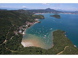 Porto Belo Municipality in South, Brazil