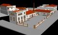 Vista general de l'antiga fàbrica del Calisay, actualment un hotel d'entitats d'Arenys de Mar..tif