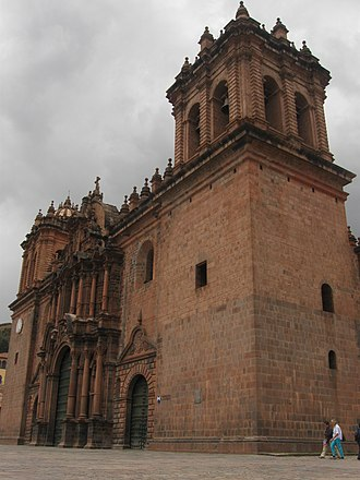 Cathedral Basilica of Our Lady of the Assumption, Cusco - Partial view of the Cathedral