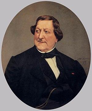 Vito D'Ancona - Vito D'Ancona, Gioacchino Rossini, 1874. Palazzo Pitti
