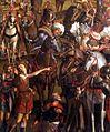 Vittore carpaccio, Crucifixion and Apotheosis of the Ten Thousand Martyrs 02.jpg
