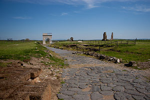 Vulci - The archaeological site of Vulci