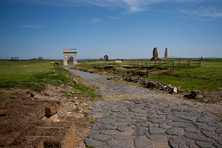 Etruscan city near Rome