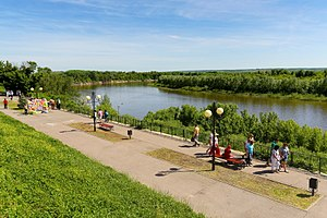 Sholokhovsky District - Vyoshenskaya, Don River embankment, Sholokhovsky District