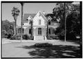 WEST FRONT - Watkins-Cartan House, 25 Isabella Avenue, Atherton, San Mateo County, CA HABS CAL,41-ATH,2-2.tif