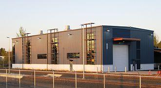 WES Commuter Rail - Maintenance building