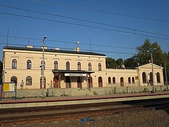 Oborniki Śląskie - Train station