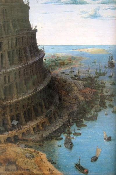 File:WLANL - Quistnix! - Museum Boijmans van Beuningen - Toren van Babel, Bruegel - detail.jpg