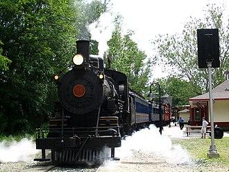 Wilmington and Western Railroad - Image: WW engine 98 1