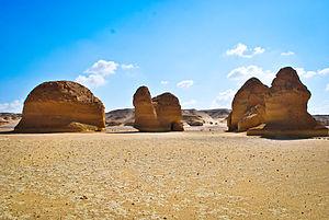 Wadi El Hitan - Whales Valley