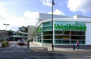 Waitrose - The Waitrose branch in Cheadle Hulme, built in 2007, was Waitrose's first purpose-built retail outlet in Northern England