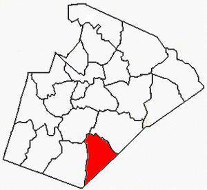 Panther Branch Township, Wake County, North Carolina - Image: Wake County NC Panther Branch Township