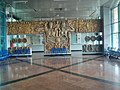 Wall moldings in the waiting room of main railway station, Rostov-on-don.jpg