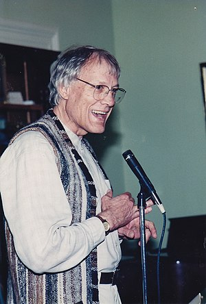Walter Wink - Walter Wink preaching. From the Fellowship of Reconciliation archives.