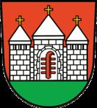 Das Wappen von Brüssow