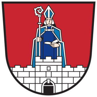 Saint Paternian - Saint Paternian on the coat-of-arms of Paternion.