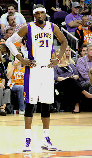 Hakim Warrick - Warrick with the Suns