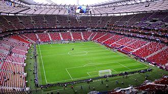 2014–15 UEFA Europa League - Image: Warsaw National Stadium before Germany Italy (6)