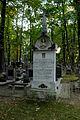 Warszawa Reduta Wolska - cmentarz prawosławny - nagrobek z 1891 roku.jpg