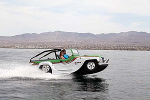 Panther (car-boat) - WaterCar Panther driving at Lake Havasu, AZ.