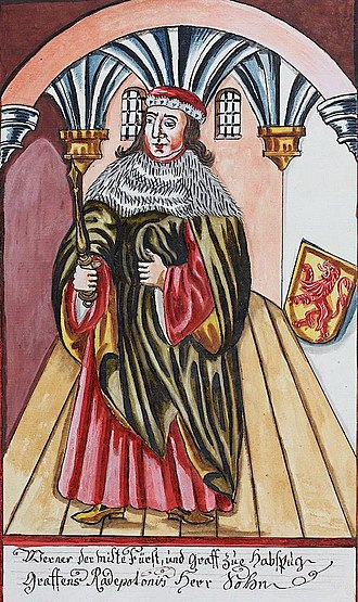 Werner I, Count of Habsburg - Image: Werner I, count of Habsburg