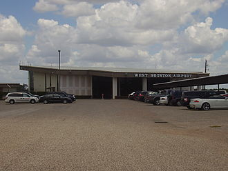 West Houston Airport - Image: West Houston Airport Terminal