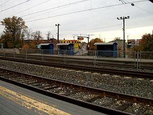 West Baltimore MARC Station; South Platform.JPG