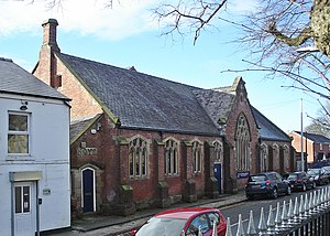 Listed buildings in Westhoughton - Image: Westhoughton C of E Primary School