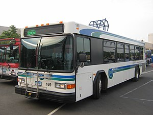 Norwalk Transit District - Image: Wheels Gillig 169