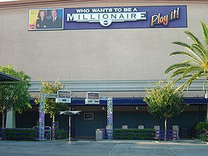 Who Wants to Be a Millionaire (U.S. game show) - The building that housed the Californian version, shown here after its 2004 closure