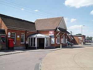 Wickford railway station - Station entrance
