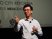 Wikimanía 2015 - Day 4 - Luis von Ahn conference - LMM (6).jpg