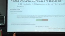 File:Wikimania 2016 - Verifiability of Wikipedia by Alex Stinson.webm