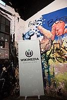Wikimedia Hackathon Vienna 2017-05-20 Party at Arena 15.jpg
