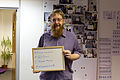 Wikimedia UK visitors photo wall March 2014 (03).jpg