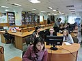 Wikiworkshop at Library of S. Kuznets KhNUE 2019-02-13 by Kharkivian 01.jpg
