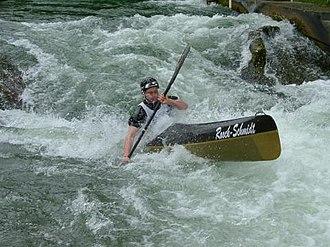 Wildwater canoeing - Wildwater kayaker