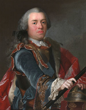 William IV, Prince of Orange - Portrait of William IV (1751), attributed to Johann Valentin Tischbein