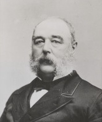 William H. Wickham - Photograph of Wickham by C.D. Fredericks and Co.