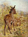 William Huggins (1820-1884) - Donkeys and Sheep in a Landscape - T00904 - Tate.jpg